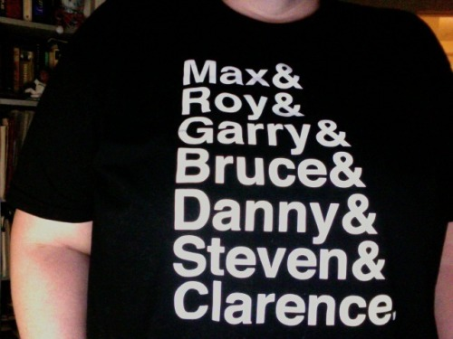this was the shirt i put on this morning. LONG LIVE THE E STREET BAND.