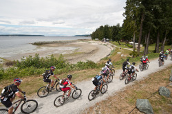Photo of the Week - Day Three Start Line in Powell River. Photo by Dave Silver Photography