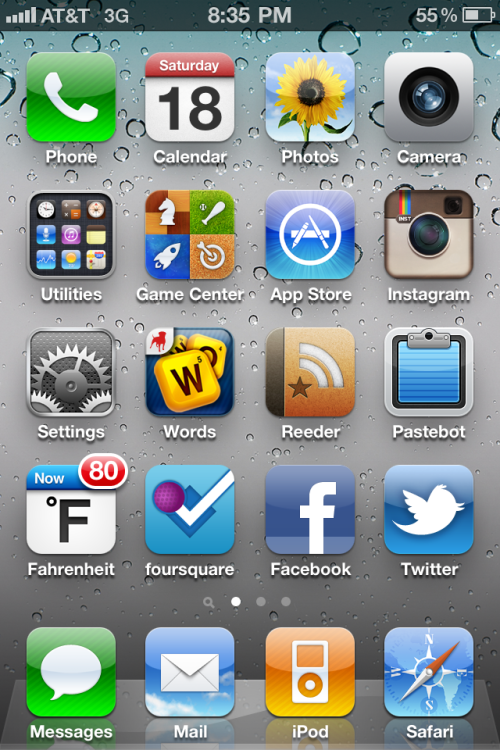 Back on iOS 4.3 - @willettjf