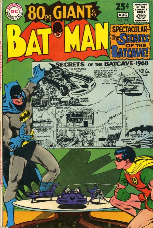 Batman #203 (1968, Neal Adams cover)