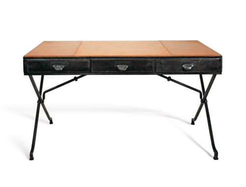The Bascule Desk from Soane- spare, chic, luxe (via lerecherche)