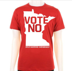 stuffaboutminneapolis:  Vote No 2012 Minnesota by FishWho