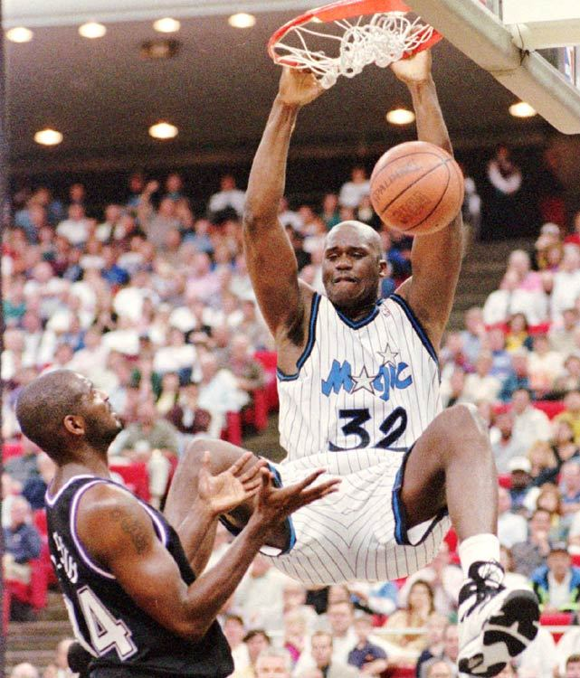 Shaq while he was on Orlando Magic