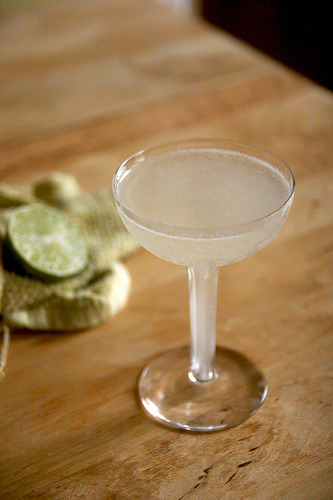 "Fuzzy, Fizzy Tequila I am not much of a tequila ladle myself, but over the weekend I was on a fish taco bender and really wanted to experiment with tequila cocktails.  The fact that I think someone slipped me some peyote at this outdoor hippie-festival I stumbled into may have also helped with my desire to experiment.  Either way, I was like ""Let's do this!"" And so I did.  The Tequila Fizz Ingredients 2 oz silver tequila 1 oz lime juice 1 tablespoon of powdered sugar club soda/seltzer Instructions Combine tequila, lime juice and sugar in shaker. Combine with ice and  shake vigorously. Pour in highball or large margarita glass and add  club soda/seltzer.  My notes: This simple, refreshingly light drink was actually a lovely suprise to my tequila-averse palate.  I used some Sauza Hornitos brand (we got it for free) and it was really balanced.  Because there are so few ingredients in this little cocktail you'd benefit from avoiding your drunk uncle's cheap Cuervo and go for broke on a top-shelf brand. Fish tacos are way more awesome if they don't come back up. TRUST."