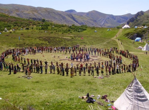 rainbow gathering in Bosnia