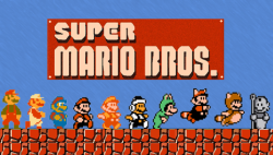 it8bit:  Mario Forms  - by Justin Vega (submitted by koldunkisloty)