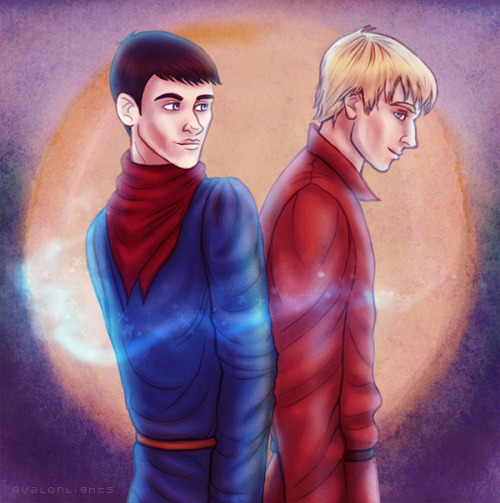 """I'm glad you're here, Merlin."""
