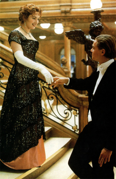 Kate Winslet and Leo DiCaprio in Titanic