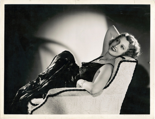 Jeanette MacDonald for The Cat and the Fiddle (1934) by Clarence Sinclair Bull