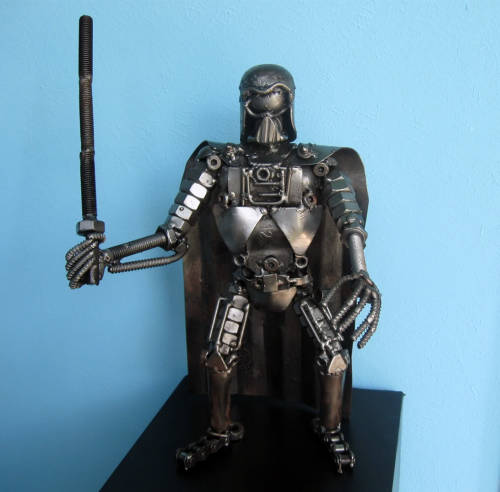 Scrap Metal Darth Vader