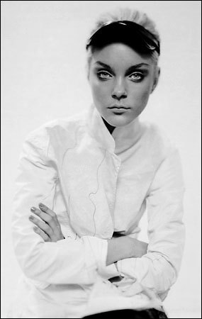 Jessica Stam photographed by Paolo Roversi - New York Times Style - Surface Tension
