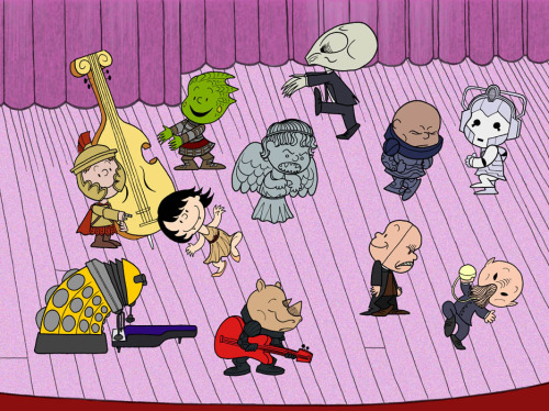 isnteverything:  It's the Great Dalek, Charlie Brown!