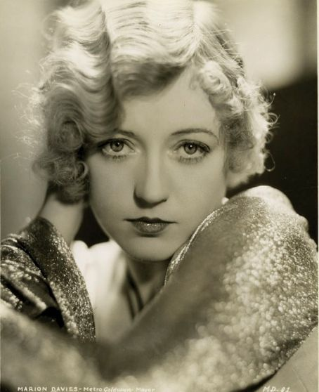 Marion Davies Publicity photo for Page Miss Glory - (1935)