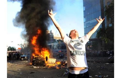 (via vancouver riot - Ducks blog - The Orange County Register)