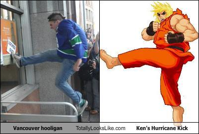 Should have use Hadouken.(↓, ↘, →, P)