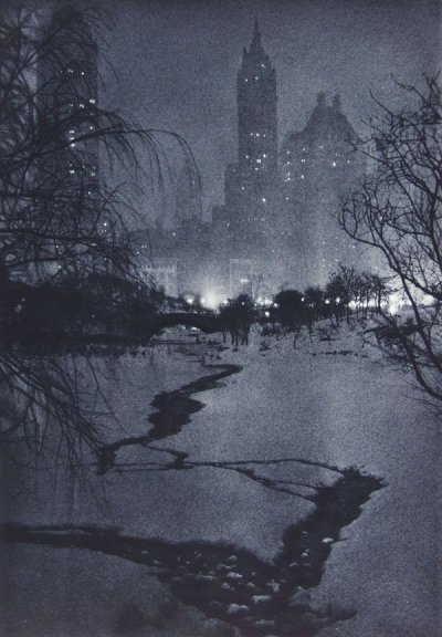 wonderfulambiguity:  Adolf Fassbender, White Night, 1936