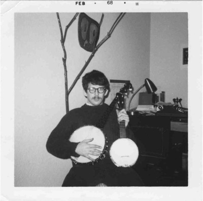 dadsaretheoriginalhipster:  Your dad played the banjo before you did and he's got the finger picking skills to prove it. In his quest to become a renaissance man of the obscure instrument world, he discovered the Tennessee 4 string. With a knife and his musical axe, he set off to hike the Appalachian Trail AKA the purest place on the planet to learn banjo. The woodland spirits showed him the chords and moonshine fueled his lessons. When he emerged from the wilderness 2,181 miles later, he had killed a bear, seduced mother nature and became a nimble-fingered, mother plucking prodigy of the hillbilly guitar. On quiet nights along the trail you can still hear his songs resonating through the trees and serenading the wilderness.  So hipsters, next time you're twanging strings while claiming to enjoy an unenjoyable instrument and dreaming that someday your folk band might become obscurely popular, remember this… Your dad is the only man in history who has ever played something on the banjo that didn't make listeners envy Beethoven and his inability to hear.    Thanks to LG for today's awesome photo.