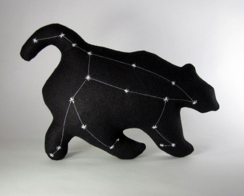 bruinsofaces:    Ursa Major Constellation- The Great Bear by lovecalifornia on etsy