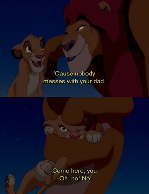 reblogging Mufasa for Father's Day! happy Father's Day, everyone (especially the dads out there)!