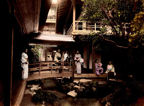 Japanese Tea House -1880