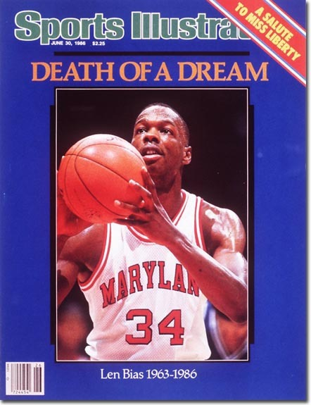 R.I.P Len Bias  November 18, 1963 - June 19, 1986