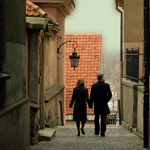 A foggy day walk through the old part of Warsaw, Poland (by doctorbob)
