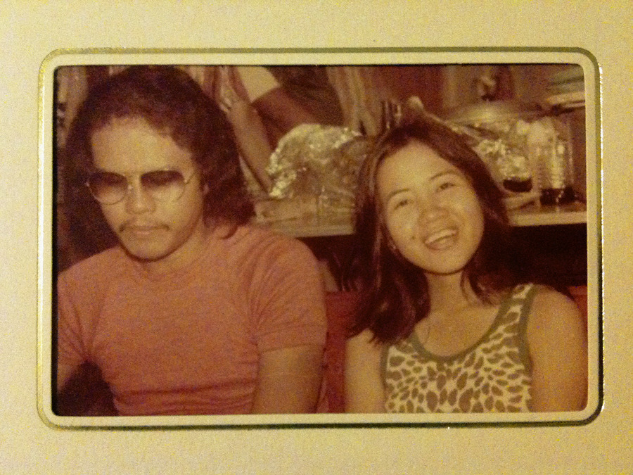 So my parents (and their parents) had some all right steez during the seventies. I believe Asians in general might have reached their cool apex in the 1970's. Also, apparently my dad was the Filipino Shuggie Otis.