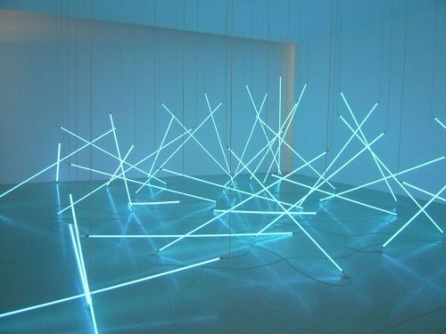 art-documents:  Francois Morellet at Pompidou Center in Paris
