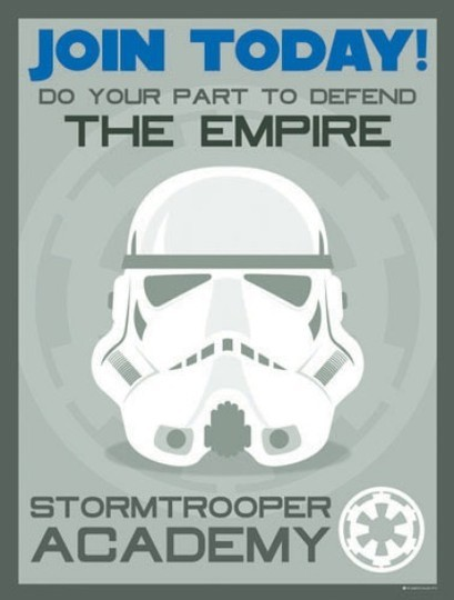Join Today! Do Your Part To Defend The Empire…