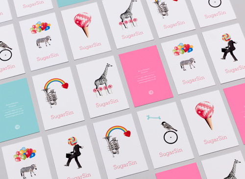cbardal:  Identity for a 'non-traditional' sweet shop