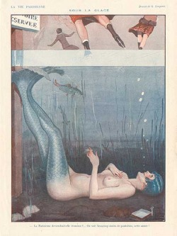 penguinmilitia:  George Leonnec, for La Vie Parisienne.
