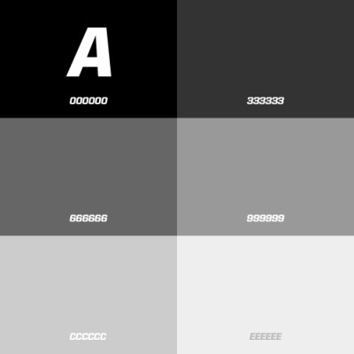 Here's a sneak preview. The color palette of my upcoming portfolio site. Stay tuned.
