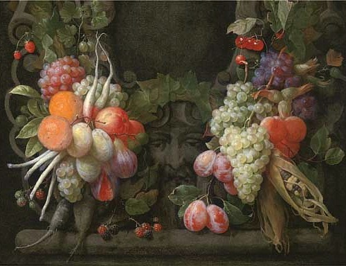 Joris van Son Fruit Still Life 17th century