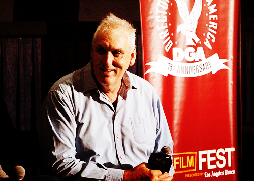 Director Phillip Noyce speaks at the 2011 Los Angeles Film Festival on June 19th.