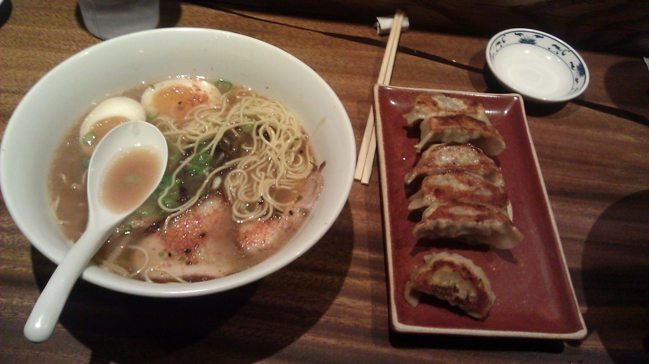 I want to go to Monta! Tonkotsu-shoyu ramen and nitamago sound so good, right now.
