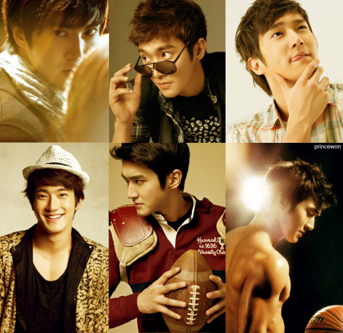 Although choosing only 6 favorite pictures of Siwon is extremely hard, I think these are my favorites.