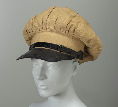 Mens riding hat, ca 1830 United States, MFA Boston