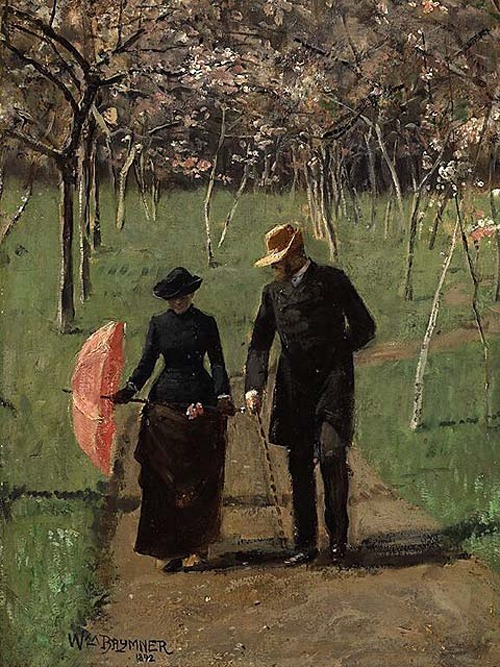 arsvitaest:  William Brymner, In the Orchard (Spring), 1892.