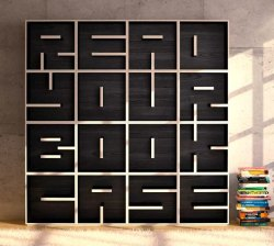 curiouskiema:  ABC Bookcase- Letters And Numbers Modular Cube Storage by Saporiti