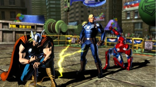The Avengers @ Marvel Vs Capcom 3 (Well, technically, that's not Captain America. And not Iron Man, but Iron Patriot. Oh hell…) 317