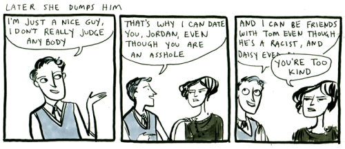 katherinestasaph:  goodbyemisery:  still the best gatsby comic nick sux  always reblog