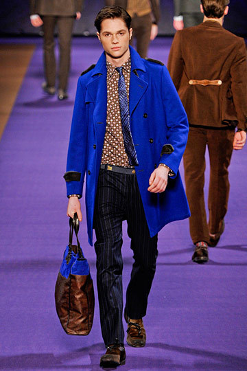 Sharp looking peacoat by Etro