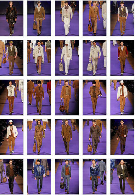 Etro Menswear Fall 2011 Collection Can't wait till it ships in-store!