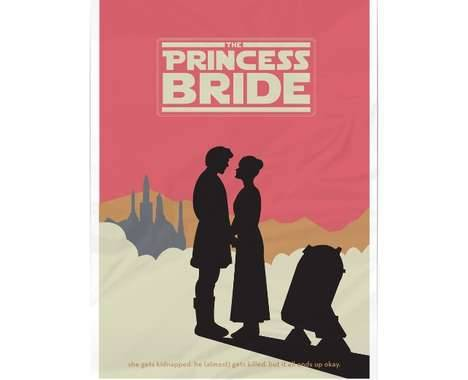 heroesandharmonies:  The Princess Bride / Star Wars mashup.