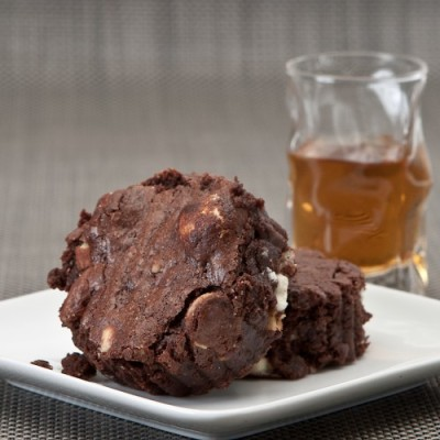 rocky road brownies, gluten-free & gooey chewy! Recipe