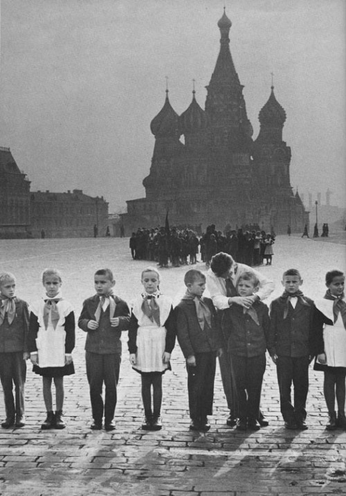 Young Pioneers in the Red Square, 1930s