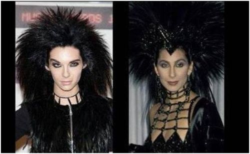 Doppelganger Alert Bill Kaulitz and Cher