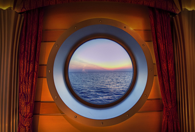 Disney Dream - Admiring the View by Joseph Vernuccio