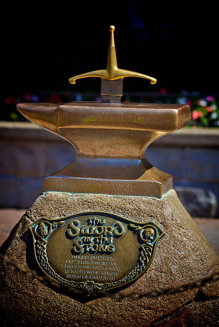 The Sword in the Stone by Don Sullivan on Flickr.