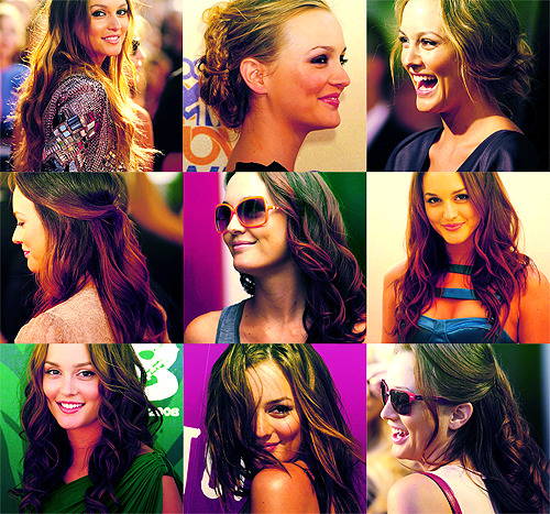 Leighton Meester, hairgasm